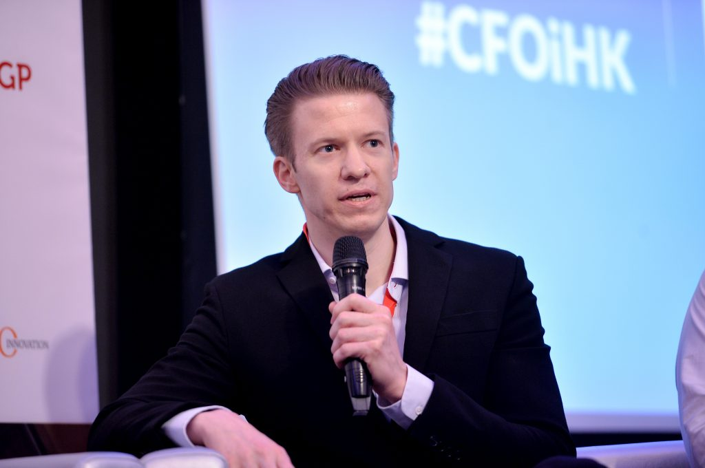 Picture of Wolfgang Ettlich at CFO Institute HK Conference 2019