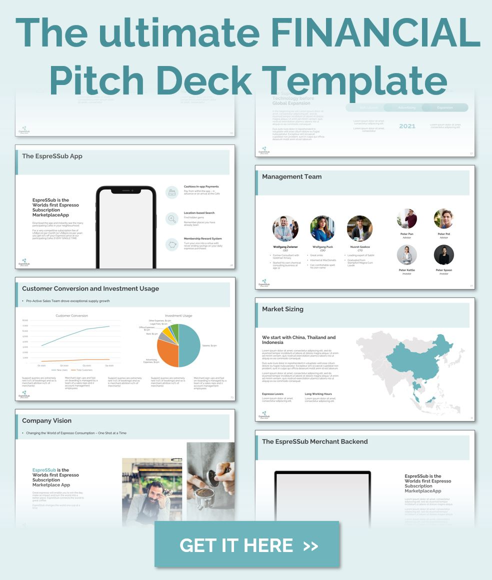 The SVS Ultimate Financial Pitch Deck Template